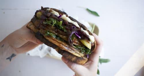 flaeskestegssandwich (porchetta)