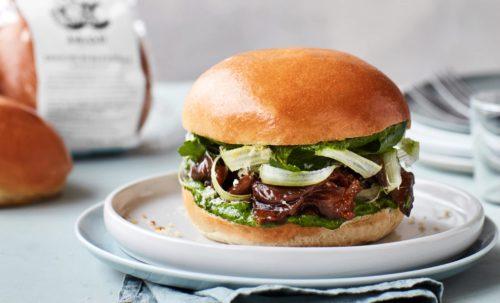 Brioche Burger med lam